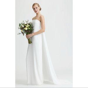 Joanna August Joni Column Wedding Dress